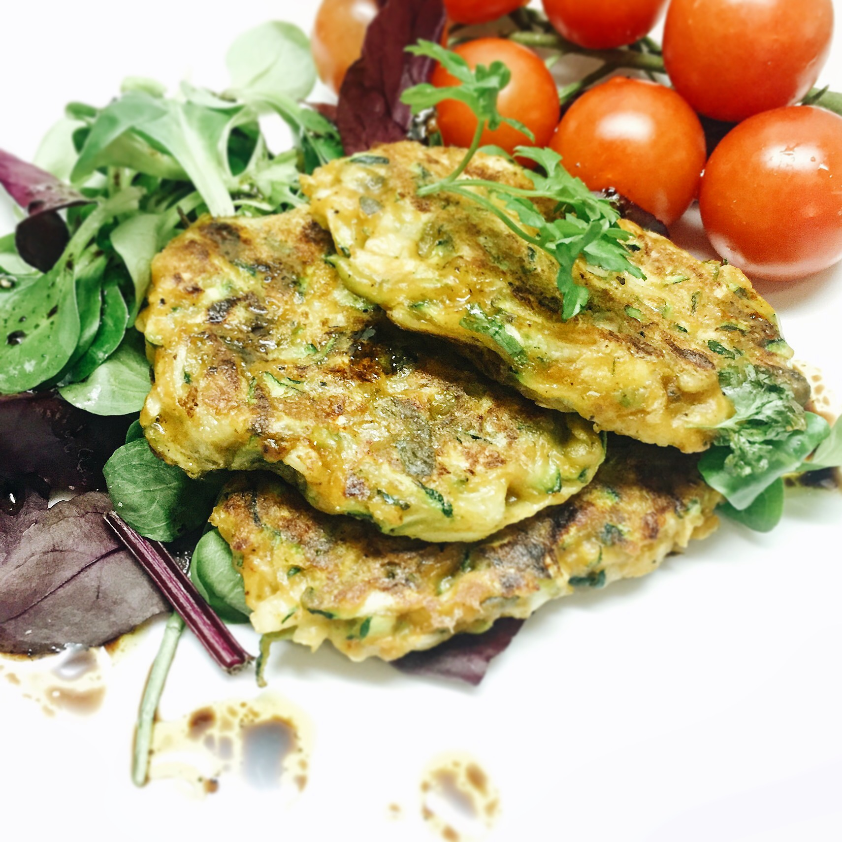 Vegan Courgette Patties That Will Save Your Dinner